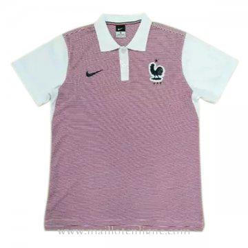 Maillot France polo Rose 2016 2017