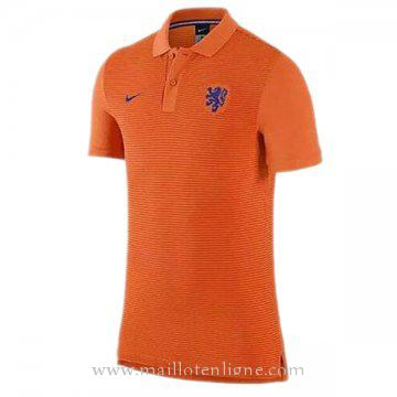 Maillot Hollande polo Orange Euro 2016